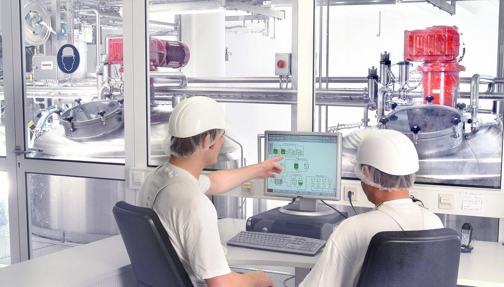Anlagensteuerung über Visualisierung in der Leitwarte