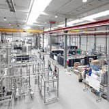 verfahrenstechnische Fertigung, Blick in die Werkshalle