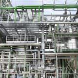 Ausschnitt Anlage zur Schwefelproduktion Rohrleitungen