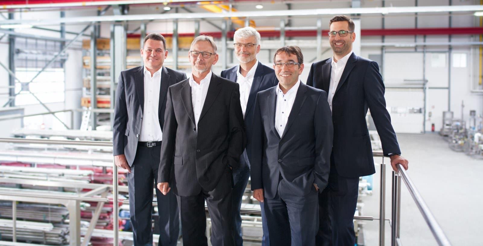 Jürgen Kutzer, Eugen Blaski, Berhard Scheller, Mathias Nauerth, Florian Klein