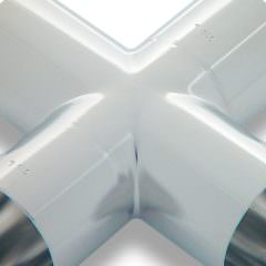zdjęcie połączenia ze stali nierdzewnej