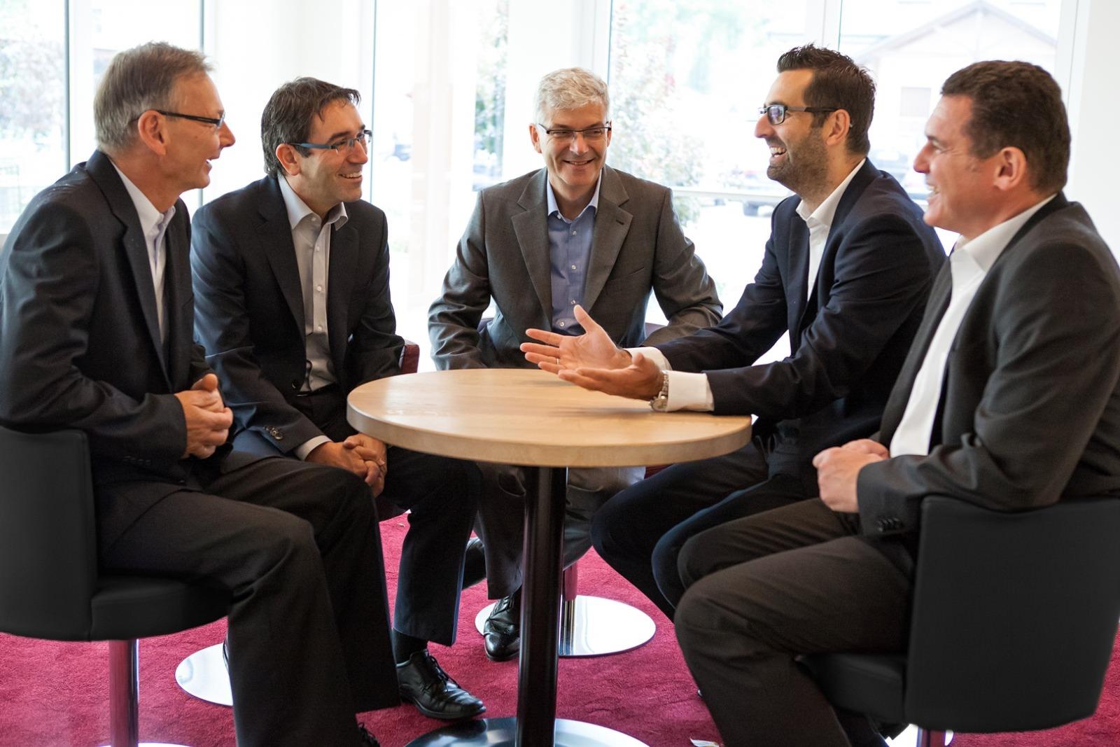 Foto Eugen Blaski, Mathias Nauerth, Bernhard Scheller, Florian Klein, Jürgen Kutzer