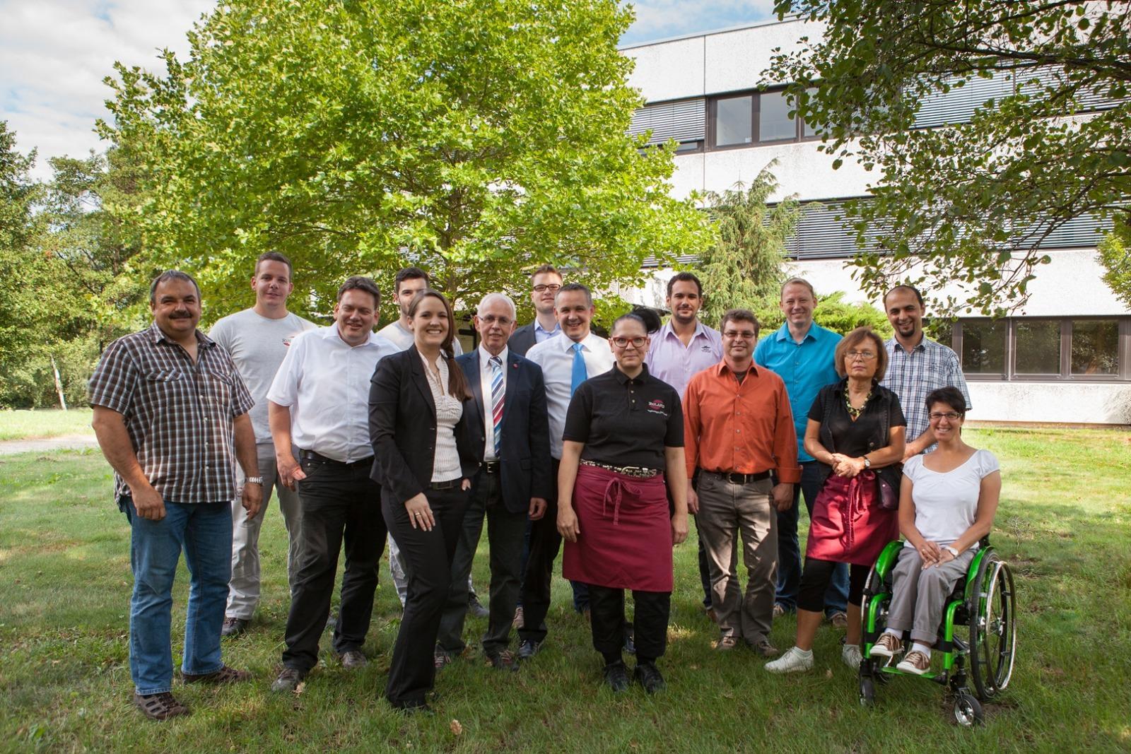 Gruppenfoto Mitarbeiter Ruland