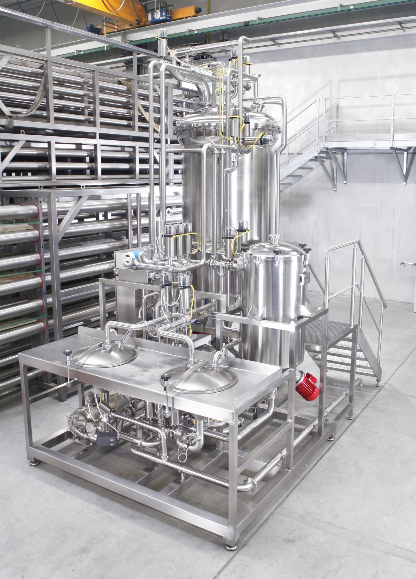 Photo powder dissolving station