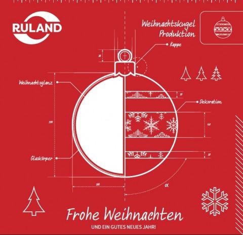 Grafik Frohe Weihnachten und ein gutes neues Jahr deutsch