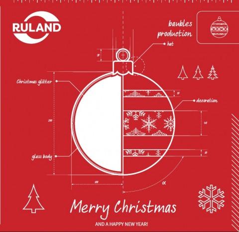 Icon Frohe Weihnachten und ein gutes neues Jahr englisch