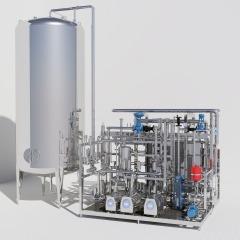 Zeichnung Pasteur-Anlage zur Erhitzung von Säften
