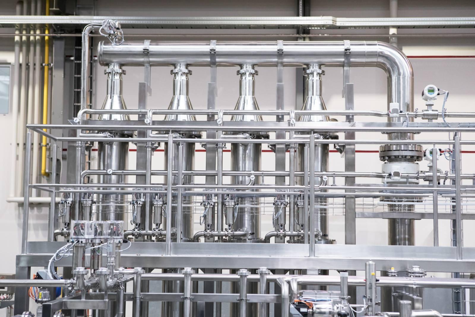 Фото Система с керамическими фильтрационными мембр...