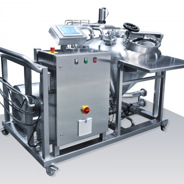 3D of powder mixing station