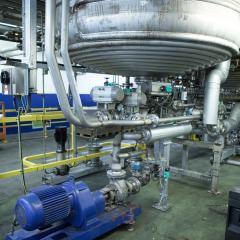 фото Вихревого соединения с резервуаром