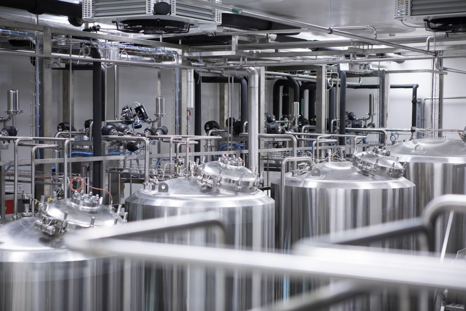 Foto Lagertanks Pufferlager für Immunglobuline