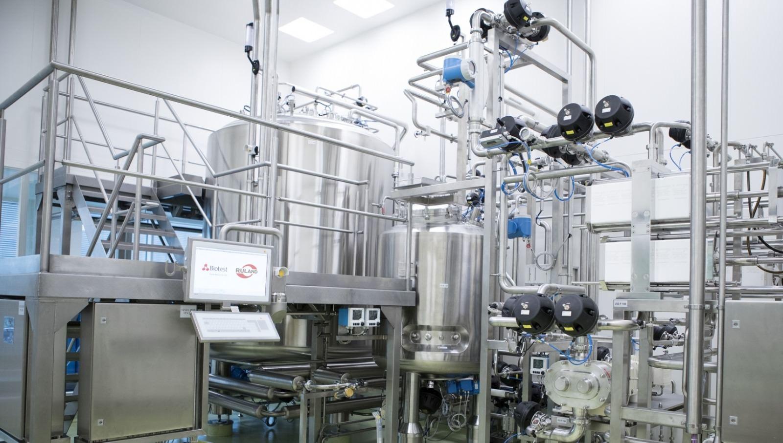 Foto Ultra-Diafiltrationsanlage für Vorprodukt