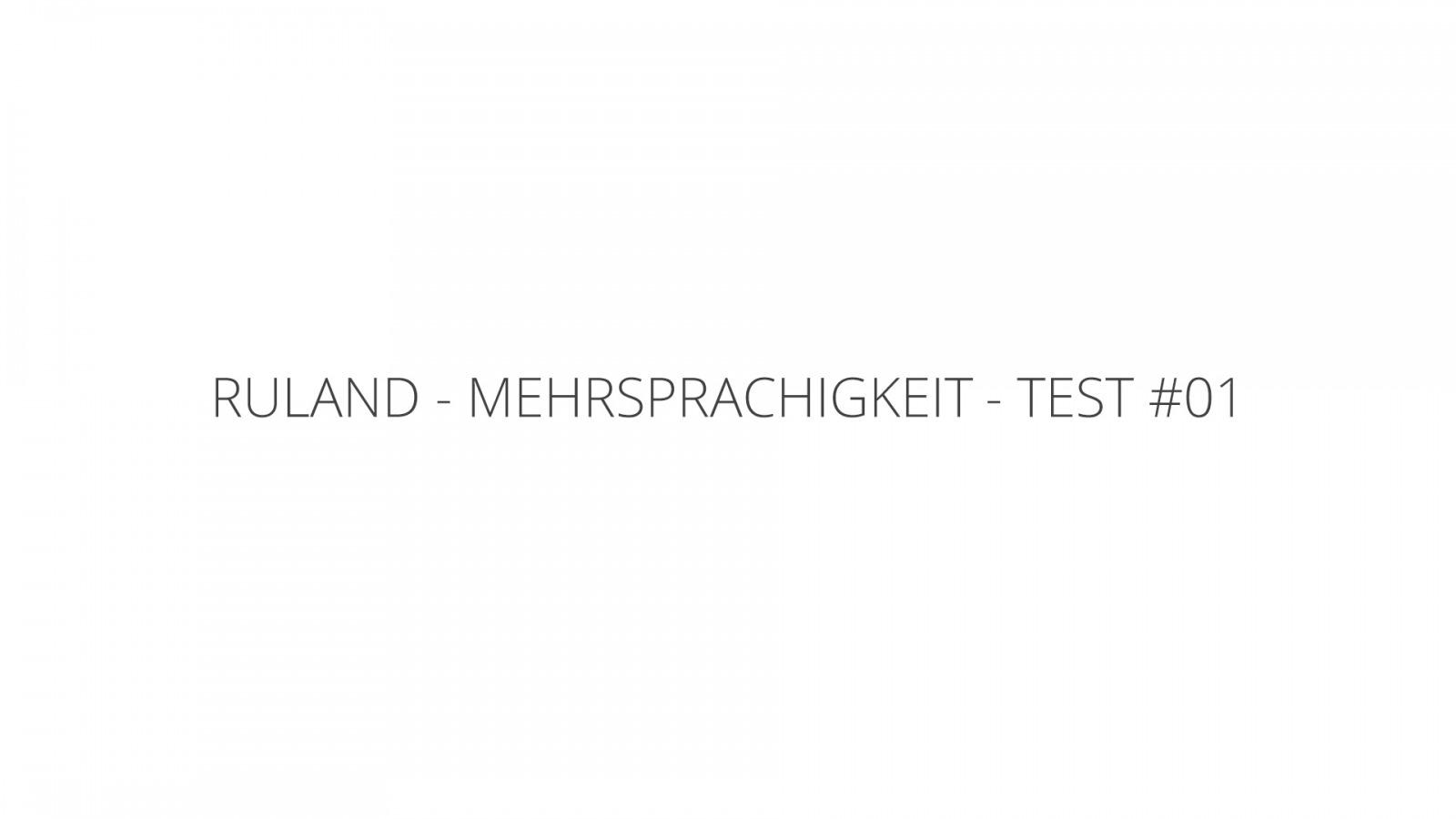 Test @DE