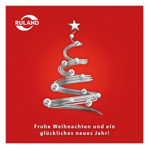 Grafik Weihnachtskarte 2018 deutsch
