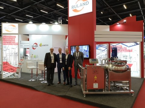 photo Ruland team at the booth Fispal Tecnologia 2019