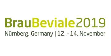 Logo Brau Beviale 2019 Nürnberg, Deutschland, 12. - 14.11.2019