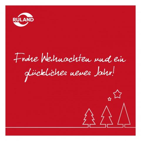 Karte Frohe Weihnachten und ein gutes neues Jahr.
