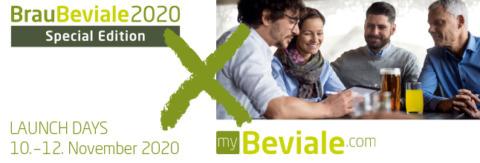 Logo BrauBeviale 2020 digital